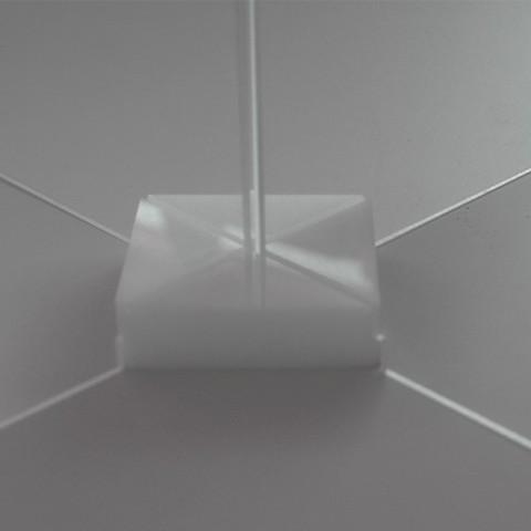 Kit de unión para mampara modular