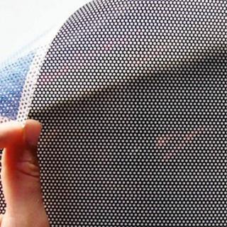 Vinilo microperforado para cristales de vehículos