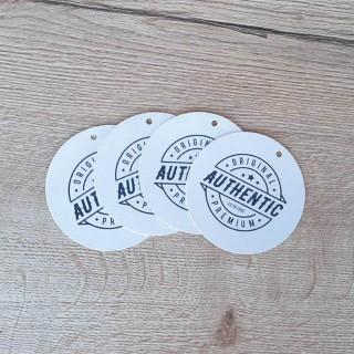 Etiqueta circular